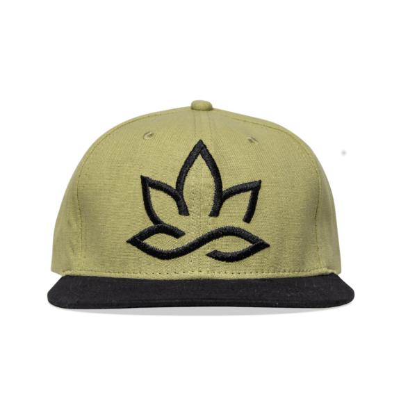 The Hempions Hanf Snacpback Cap in braun Produktfoto